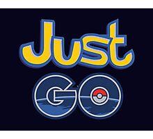 Just Go Photographic Print