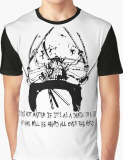 Asura Zoro Version Black Graphic T-Shirt