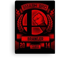 Smash Bro Brawler Canvas Print