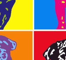 Puggy Warhol Sticker