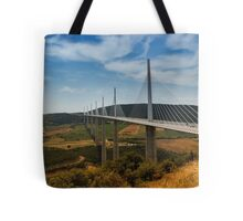 The Millau Viaduct - The Tallest Bridge in the World Tote Bag
