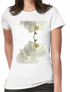 White Orchid Womens Fitted T-Shirt