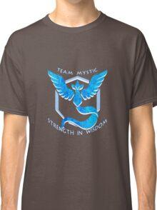 Team Mystic: Strength in Wisdom Classic T-Shirt
