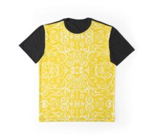 Silent Era, Yellow Graphic T-Shirt