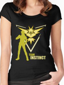 Team Instinct | Pokemon GO Women's Fitted Scoop T-Shirt