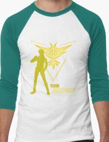 Team Instinct | Pokemon GO Men's Baseball ¾ T-Shirt