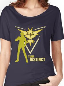 Team Instinct | Pokemon GO Women's Relaxed Fit T-Shirt