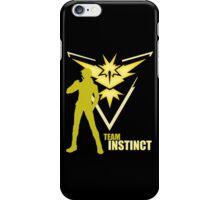 Team Instinct | Pokemon GO iPhone Case/Skin