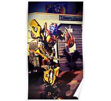 Bumblebee Flip The Bird - Transformers Poster