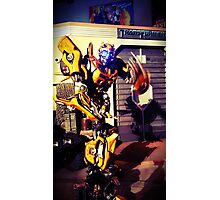 Bumblebee Flip The Bird - Transformers Photographic Print