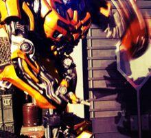Bumblebee Flip The Bird - Transformers Sticker