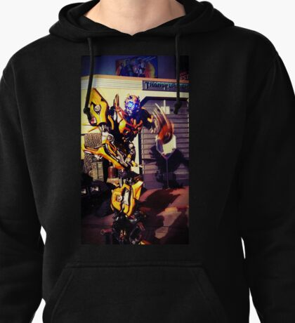 Bumblebee Flip The Bird - Transformers Pullover Hoodie