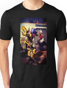 Bumblebee Flip The Bird - Transformers Unisex T-Shirt
