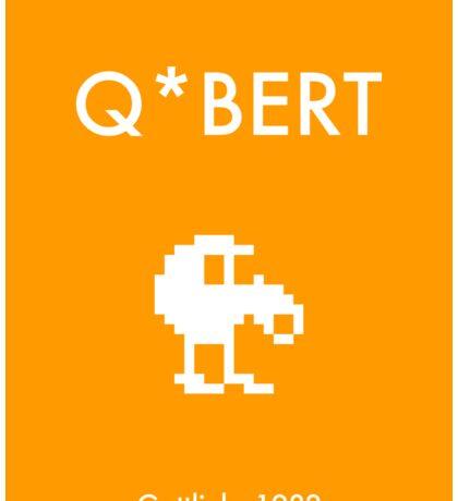 Q*bert (Poster) Sticker