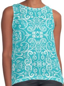 Silent Era, Turquoise Contrast Tank