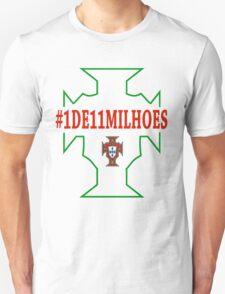 Portugal Euro 2016 Champions Tshirt  Unisex T-Shirt