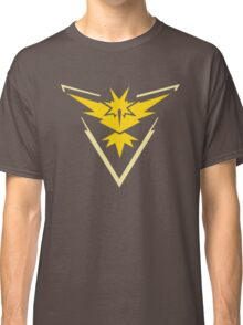 Pokemon Team Instinct Yellow Classic T-Shirt