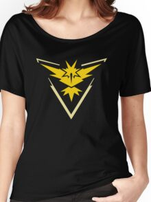 Pokemon Team Instinct Yellow Women's Relaxed Fit T-Shirt