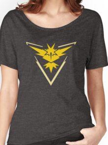 Pokemon Team Instinct Yellow Women's Relaxed Fit T-Shirt