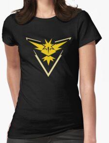 Pokemon Team Instinct Yellow Womens Fitted T-Shirt
