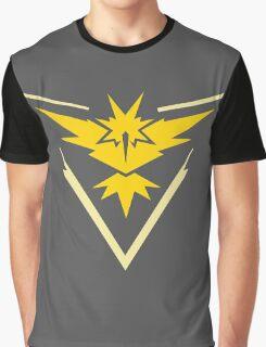 Pokemon Team Instinct Yellow Graphic T-Shirt