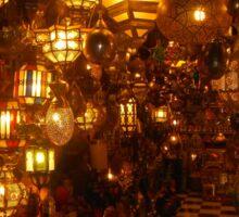 Moroccan lights Sticker