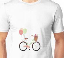 balloons on bike Unisex T-Shirt
