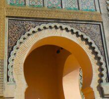 Morocco Meknes in colour Sticker