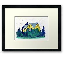 Witches' Hollow Framed Print