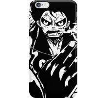Luffy Gear 4 - Ready To Fight iPhone Case/Skin