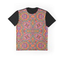Kaleidoscope abstract texture  Graphic T-Shirt
