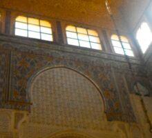 Morocco Meknes - inside the mosque Sticker