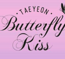 taeyeon butterfly kiss 3 Sticker