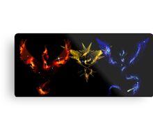 Pokemon Go: Nebula Teams Metal Print