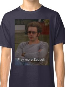 Play More Zeppelin Classic T-Shirt