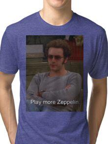 Play More Zeppelin Tri-blend T-Shirt