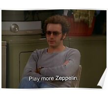 Play More Zeppelin Poster