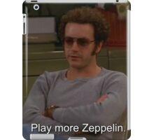 Play More Zeppelin iPad Case/Skin