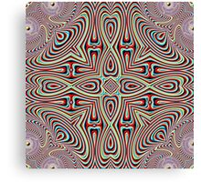 Fourteen Pointed Pulse Canvas Print