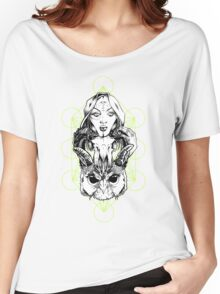 Occult Totem Pole Women's Relaxed Fit T-Shirt