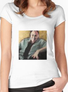 Tony Soprano Women's Fitted Scoop T-Shirt
