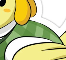 Animal Crossing: Isabelle Sticker