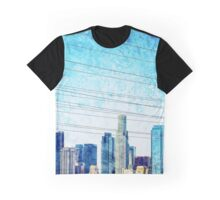 Los Angeles Skyline Graphic T-Shirt