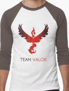 Pokemon GO! Team Valor Men's Baseball ¾ T-Shirt