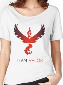 Pokemon GO! Team Valor Women's Relaxed Fit T-Shirt