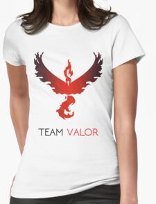 Pokemon GO! Team Valor Womens Fitted T-Shirt