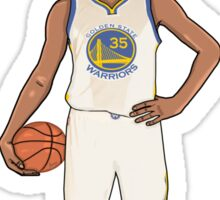 Kevin Durant Cartoon Bubble Head Sticker