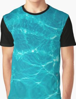 Water Texture VI - Dark Version Graphic T-Shirt