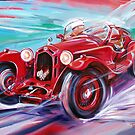 alfa romeo 8c2300 by Brian Tisdall