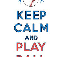Keep Calm and Play Ball - Miami by canossagraphics